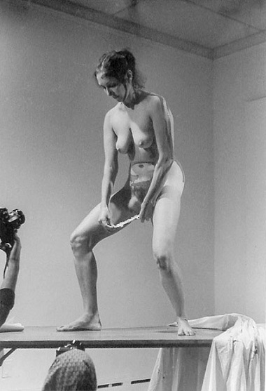 Staying Naked To Save Feminist Art  Camel76-6319