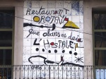 Ceramic Mural of Orotava Restaurant