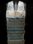 Ancient Egyptian beaded dress, one of twenty such dresses worldwide (zoom)