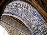 Detail of an arch at the Alcázar ' Seville