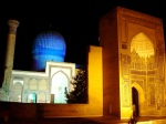 Gur-e Amir at night - Samarkand