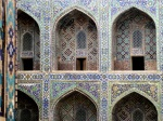 Inside the Sher-Dor Madrasa - Samarkand