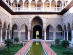 Patio de las Doncellas at the Alcázar - Seville