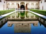 Patio de los Arrayanes in the Alhambra - Granada