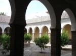 Patio of a mosque inside Church of El Salvador - Granada