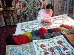 Suzani Craft - Samarkand