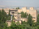 View of the Nasrid Palaces of the Alhambra - Granada
