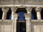 The Temple's facade