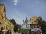 Saint Andrew's Church in Kiev 1