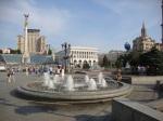 Maidan Nezalezhnosti in Kiev