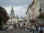 Sovobody Street in Lviv 1