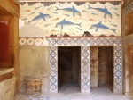 The Dolphins Frieze at Knossos