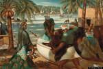 The Fishermen of Rosetta - Mahmoud Said