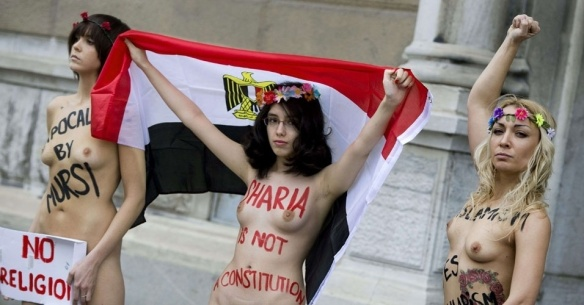 Femen & Aliaa ElMahdy