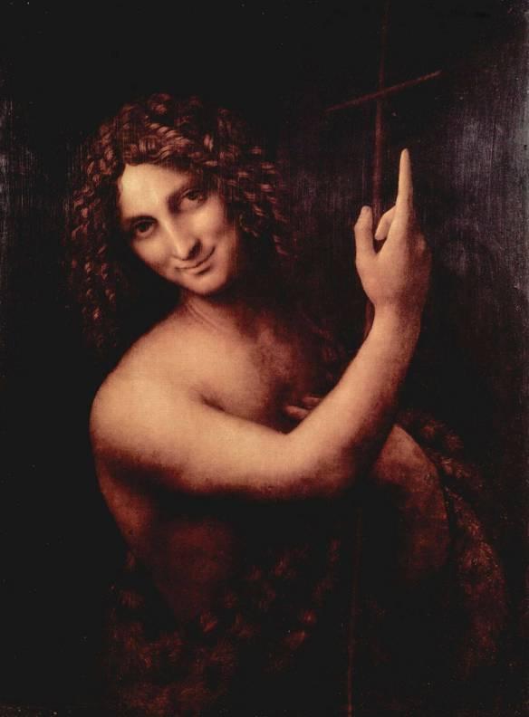 Saint John the Baptist - Da Vinci