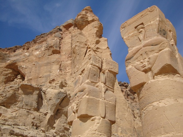 Column crowned with Hathor - Jebel Barkal