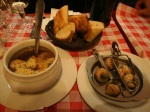 Onion Soup and Escargot Dinner at Cartier Latin