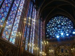 Stained glass windows of Ste Chapelle