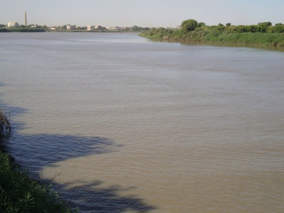 The Nile in Khartoum