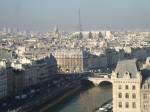 View of Paris from Notre Dame (2)