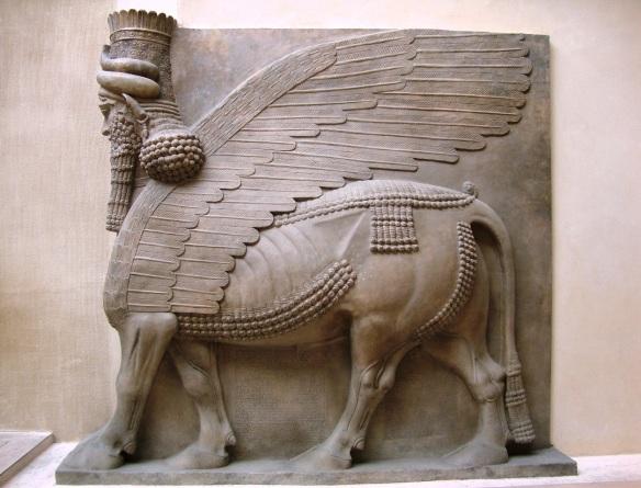 Lamassu from the Palace of Sargon II