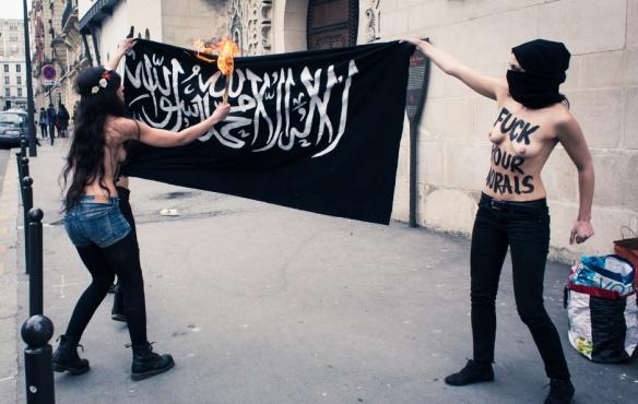 Femen's Topless Jihad 2