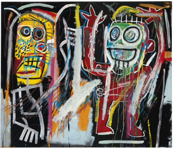 Dustheads by Jean-Michel Basquiat - $49m