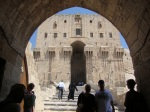 Entrance to the Citadel - Aleppo