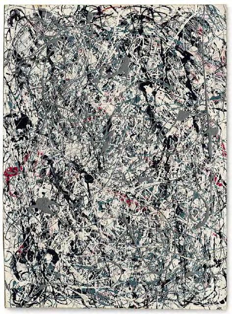Number 19 by Jackson Pollock - $58.4m