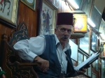 Storyteller at Nawfara Cafe - Damascus