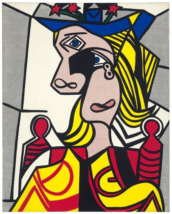 Woman with Flowered Hat by Lichtenstein - $56m