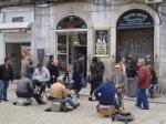 Lisbon's Shoeshiners