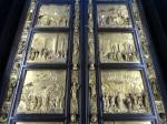Ghiberti's original Gates of Paradise