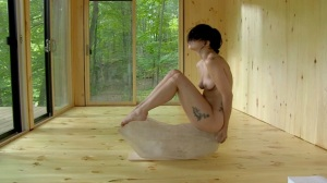 Lady Gaga practicing the Abramovic Method