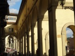The Vasari Corridor by the Arno
