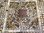Mosaic Marble floor in the Basilica