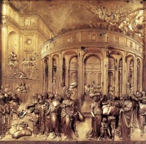 Bornze Panel by Ghiberti
