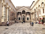Peristyle at Diocletian's Palace in Split