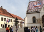St Mark's Square in Zagreb