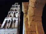 Tower of the Split Cathedral at Night