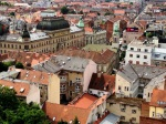 View of Zagreb from Lotrščak Tower