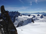 Gazing over Italian Alps