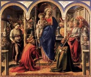 Barbadori Altarpiece - Filippo Lippi
