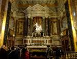 Inside St Maria della Vittoria
