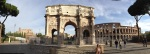 Panoramic View of Colosseum