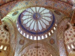 Inside the Blue Mosque 1