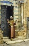 Ludwig Deutsch - At the door of the mosque