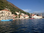 Perast from the Sea