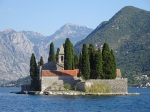 St. Geogre Island in the Bay of Kotor