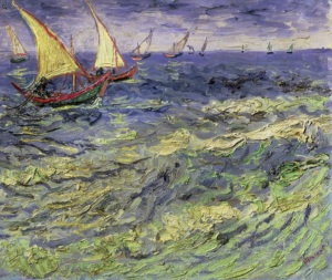 Seascape by Van Gogh
